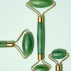 Jade Facial Roller HERBIVORE BOTANICALS GREEN NEW